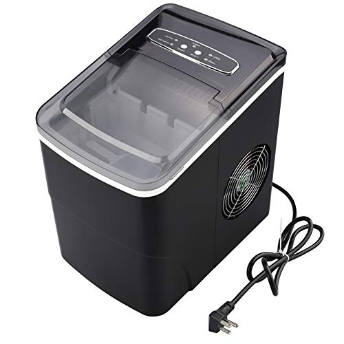 Ice Maker Machine for Countertop,Ice Cubes Ready in 8 Mins,Makes 26 lbs...