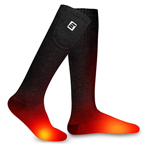Best Budget-Friendly: EEIEER Upgraded Heated Sock- For Men and Women