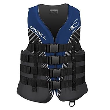 O'Neill Men's Superlite USCG Life Vest, Pacific/Smoke/Black/White,XX-Large