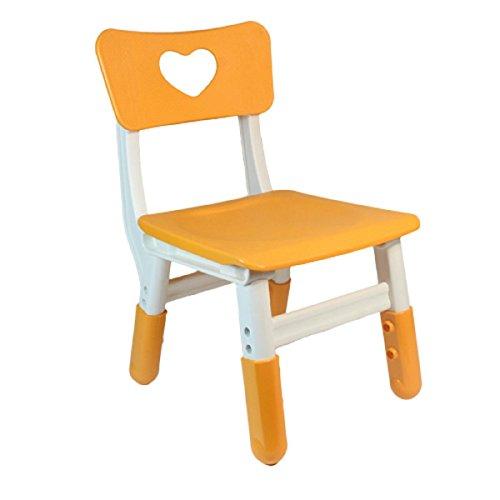 GAOJIAN Bureaux et chaises d'apprentissage pour la Maternelle Peuvent être ajustés Chaise d'amour Chaise de Dossier pour Enfants Chaise de Fauteuil en Plastique pour Ascenseur, B
