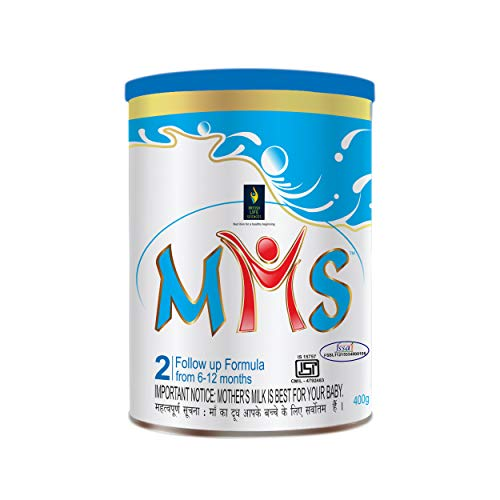 BRITISH LIFE SCIENCES MMS Follow up formula for 6-12 month old babies | Stage 2 Infant formula for overall development | 400 g