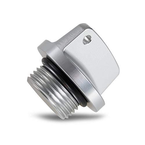 XBFVE Tapa de llenado de Aceite Plug Fit for Suzuki GSXR GSXR GSXS 600 750 1000 V Strom 650 Bandit 1200 GSR 250 / S 400 GSX 250R 1400 GSF 1250 Impulus (Color : Sliver)