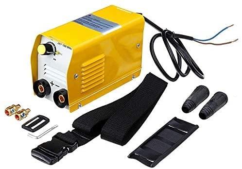 TYSJL Mini 2 0A-200A Máquina de Soldadura eléctrica IGBT DC Inversor Arco Welding-Welders 50-60Hz Amarillo