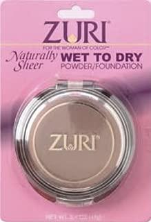 Zuri Naturally Sheer Wet To Dry Pressed Powder - Willow Soft