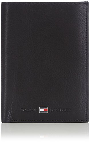Tommy Hilfiger Johnson, Porte-documents. Homme, Noir (002), Taille Unique
