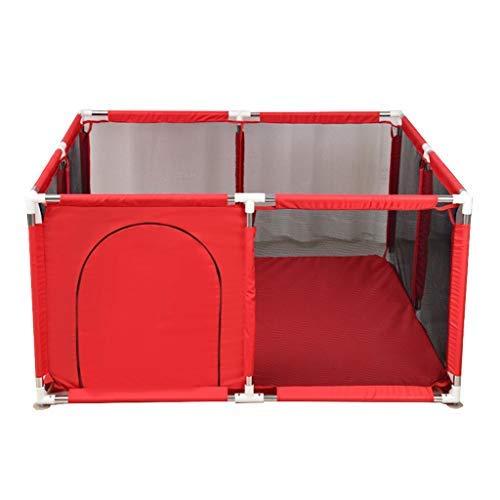 no brand Parcs for Enfants, 128x128x66cm Clôture Enfant intérieur Aire de Jeux for Enfants Clôture Sécurité Ménage Portable Playpen