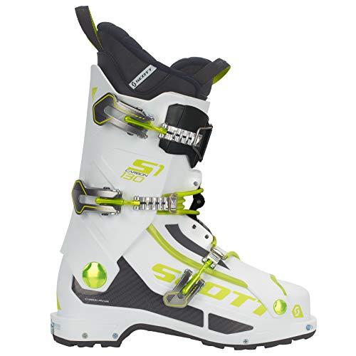 SCOTT INVIERNO Bota Esqui S1 Carbon White/Green 26.5/41.0