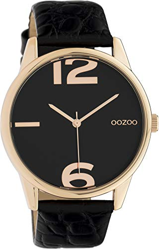 OOZOO Timepieces Zwart horloge C10379 (40 mm)