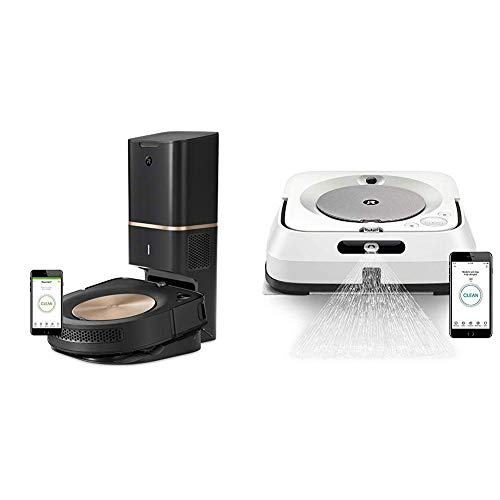 Purchase iRobot Roomba s9+ Robot Vacuum with Automatic Dirt Disposal- Wi-Fi Connected, Smart Mapping...