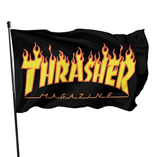 Ssxvjaioervrf Thrasher Seasonal Flag Set for Outdoors Easter Spring Summer Welcome Yard Decor Decoration 3x5