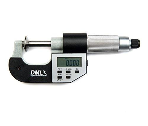DML 0–25mm micrómetro IP54Digital Disco 12meses de garantía)