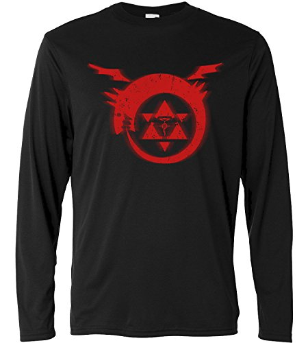 LaMAGLIERIA Camiseta de Manga Larga Hombre - Full Metal Alchemist - Long...