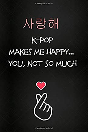 Kpop Journal: Lined Notebook - Kpop gift, Kpop accessories, unique gifts for teenage girls