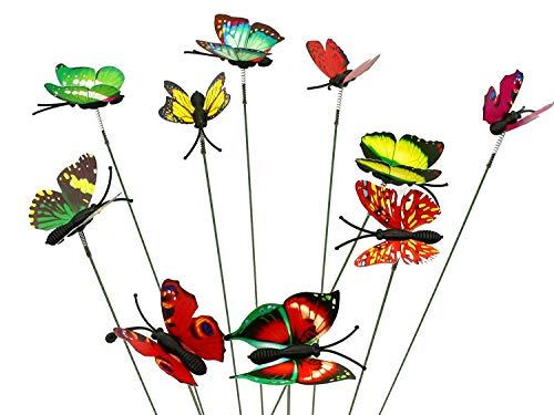 SecretRain Diseño de Hada del jardín en Miniatura Botes para Especias de Flores diseño con...