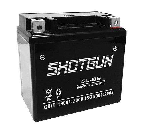 Shotgun Replaces YTX5L-BS for Polaris Predator Outlaw Sportsman 50 80 90 GTX5L-BS ATV Battery