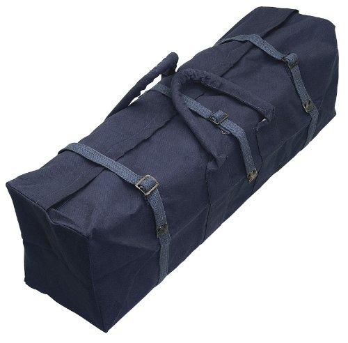 Leinwand von DRAPER 740 x 190 x 220 mm Werkzeugtasche - aus dickwandigem wasserabweisendem Segeltuch mit Schnallenriemen und CANVAS silikonüberzogen Seilgriffen. Verpackt im Polybeutel mit der Displaykarte.