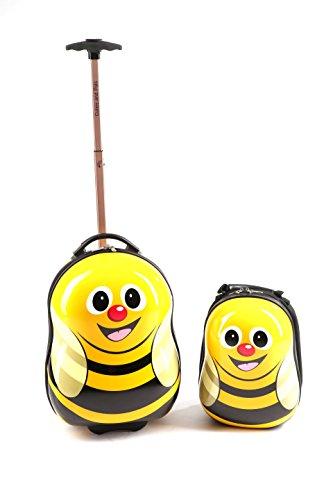 Cuties and Pals Valigetta bimbo, zaino bimbo, carino, trolley (valigia e zaino, ape giallo)