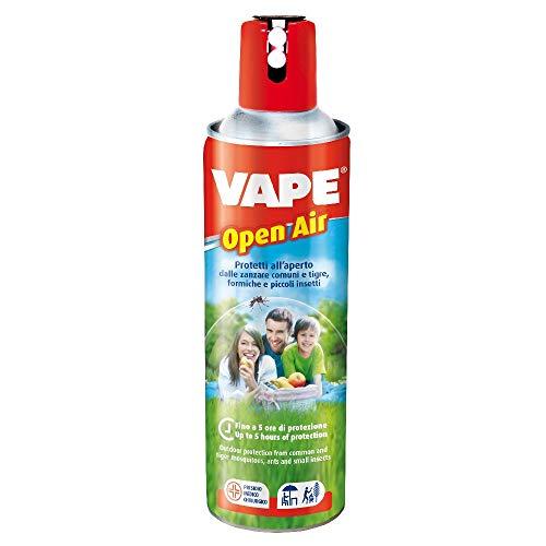 Vape Insetticida Zanzare Comuni E Tigre, Spray Per Giardino E Spazi Aperti, 500 Ml