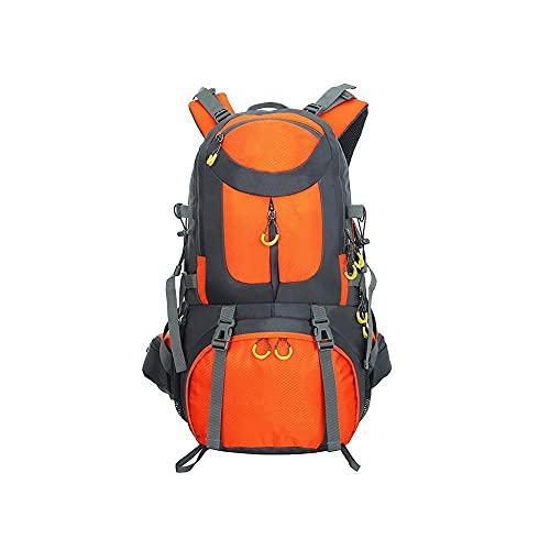 HEIYANQUANLXB Mochila Senderismo, 4 0L 50L Deportes al Aire Libre Camping Senderismo Mochila Hombres Mujeres Viajando Escalada Bolsa de Mochila (Capacity : 40L, Color : Orange)