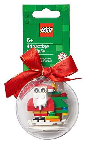 LEGO Christmas Santa Ornament