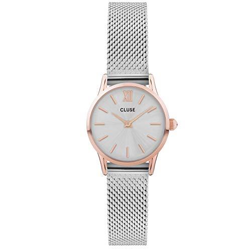 Cluse orologio donna La Vedette 24mm Mesh Rose Gold Silver/Silver CW0101206004