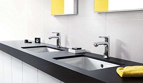 Hansgrohe – Waschtischarmatur, Ablaufgarnitur, CoolStart, ComfortZone 110, Chrom, Serie Metris - 3