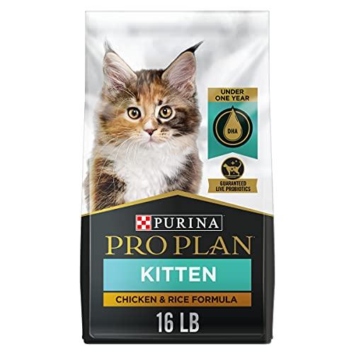 Purina Pro Plan With Probiotics, High Protein Dry Kitten...