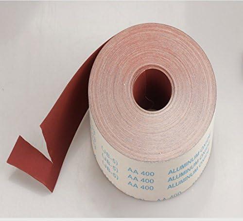 Coarse Emery Cloth Roll Medium Fine Various Lengths 80,100,120,150 Grit..new
