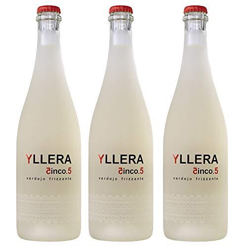 Yllera 5.5 Verdejo Frizzante. Estuche de 3 botellas