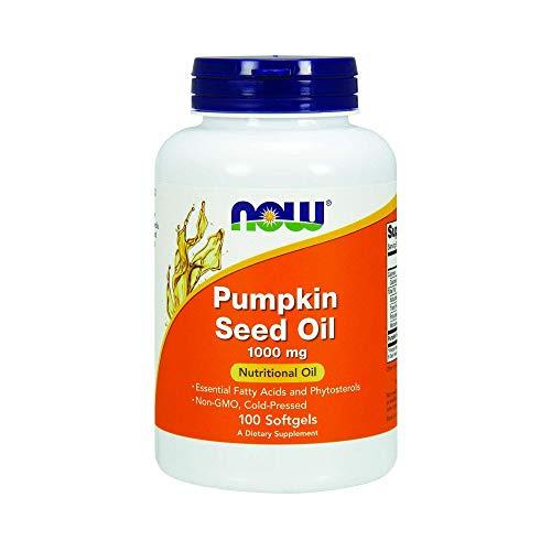 Now Pumpkin Seed Oil 1000 mg 100 softgels