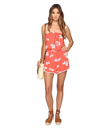 Volcom dames onesie Pine For Me Romper Jumpsuits Einteiler Damen Orange