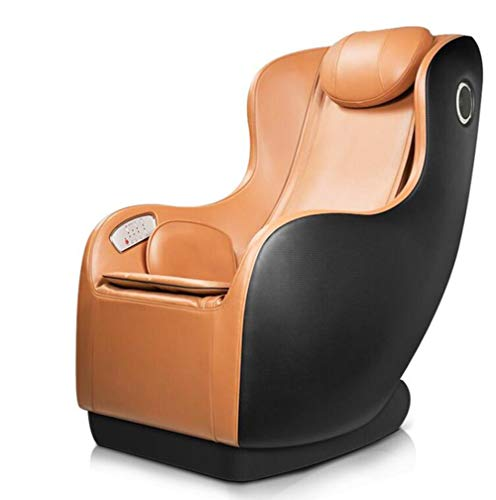 4D Massage Stuhl, Modern Home Ganzkörper-Multi-Funktions-Elektro-Massage-Stuhl Lehnstuhl Mit Bluetooth Stereo,Schwarz