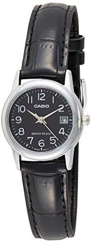 Relógio Feminino Casio Analógico LTP-V002L-1BUDF - Prata/Preto
