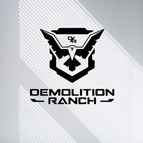 Demolition Ranch Wall Decals - Matt Demolitia Ranch Vinyl Stickers - Demolition Ranch Logo Sticker - Demo Ranch Decal - Peel and Stick 3