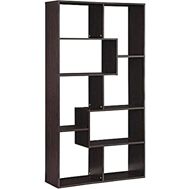 Mainstay Home 8-Shelf Bookcase (Espresso)