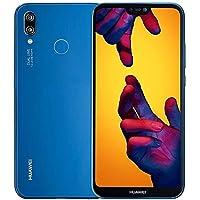 """HUAWEI P20 Lite (32 GB + 4 GB de RAM) 5.84"""" FHD + Display 4G LTE Dual SIM gsm Desbloqueado de fábrica Smartphone ANE-LX3 - Modelo Internacional - n (Klein Blue)"""