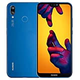 HUAWEI P20 Lite (32GB + 4GB RAM) 5.84' FHD+ Display, 4G LTE Dual SIM GSM Factory Unlocked Smartphone ANE-LX3 - International Model - No Warranty (Klein Blue)