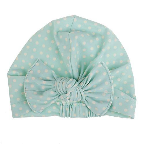 Kalaokei Bonnet de bain imperméable pour enfant Motif dinosaure, Polyester et acrylique., Mint Green Round Dots