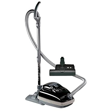 SEBO 9688AM Airbelt K3 Canister Vacuum with ET-1 Powerhead and Parquet Brush, Black Corded