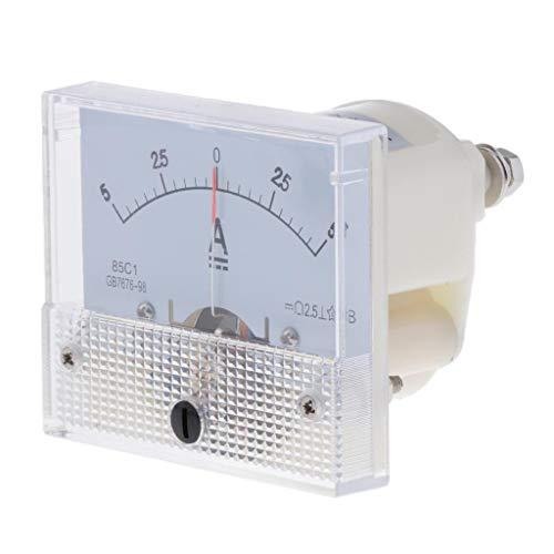 B Blesiya DC Analog Panel Ampere Aktuellen Zähler Amperemeter Messgerät - 0-1A 0-5A 0-10A - 0-5A