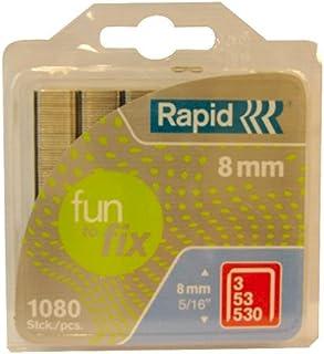 ラピッドハイパフォーマンスステープル、No.53、脚の長さ8 mm、40108718-1080個