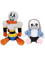 2 pièces doudous Undertale, ensemble de peluches Undertale jouets en peluche Frisk et Chara pour enfants cadeaux pour enfants