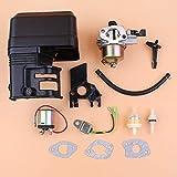 FEIFUSHIDIAN Sostituzione Carburatore Starter solenoide Relay sensore Olio Kit suoneria for la Honda GX160 GX200 168F 5.5/6.5HP 2KW Motore Motore Generatore della Benzina Pressione