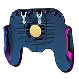 ibasenice - Controlador de videojuegos móvil con ventilador para Pubg Call of Duty Fortnite Gaming Grip Gamepad
