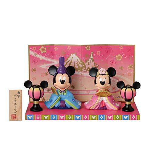 【東京ディズニーリゾート限定】ミッキーとミニーのひな人形 お雛様 おひな様 雛飾り 雛人形