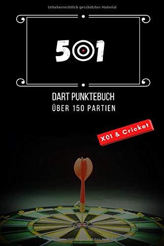 501! Der ultimative Offline Dart Scorer für X01 & Cricket! Dart Statistik, Buchführung, erzielte Punkte und Challenges für Vereine, Freunde oder SinglePlay