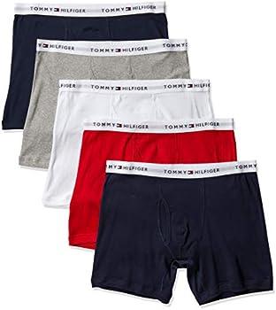 5-Pack Tommy Hilfiger Mens Cotton Classics Boxer Briefs