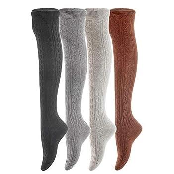Best warm thigh high socks Reviews