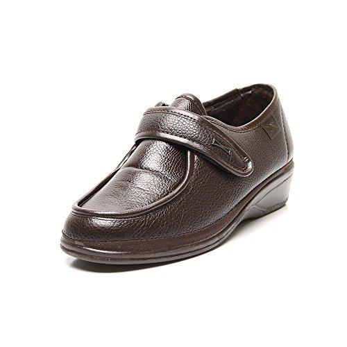 Doctor Cutillas 780 - Zapato Ortopédico Velcro Marrón