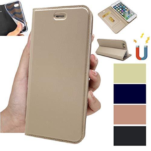 ソニーXZ3 手帳型 SO-01LカバーSOV39 ケース 801SO 手帳 エクスぺリアXZ3 ケース 手帳型 Xperia XZ3 カバーJaorty内蔵マグネット カードポケット スタンド機能 PUレザー 超薄型 人気 おしゃれ4色-ゴールド